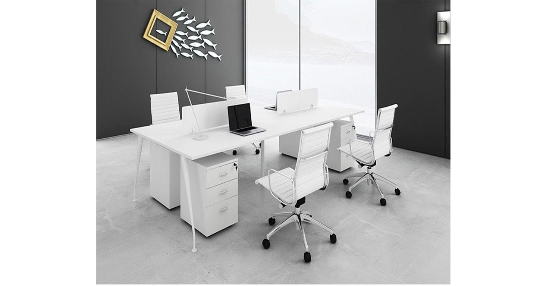 屏风卡位办公桌-屏风办公桌-品源办公桌