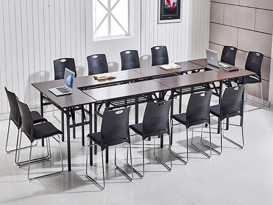 折叠式会议桌-办公室会议桌-品源办公室会议桌