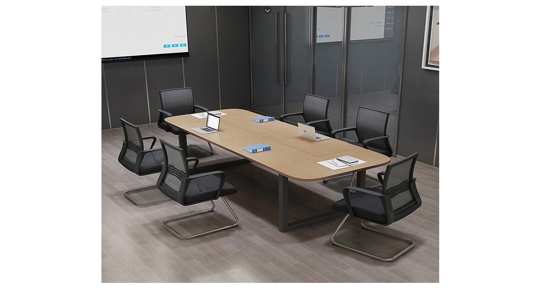 椭圆会议桌-会议桌-品源会议桌