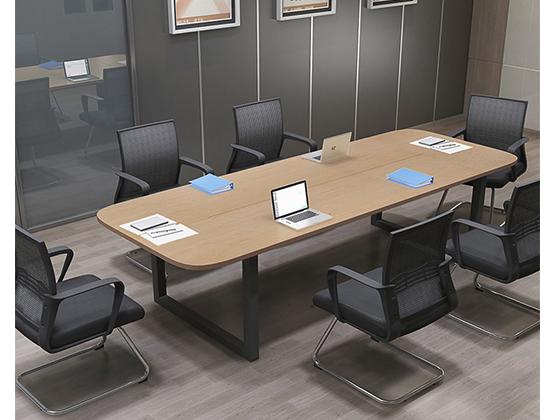 椭圆形会议桌-办公室会议桌-品源办公室会议桌