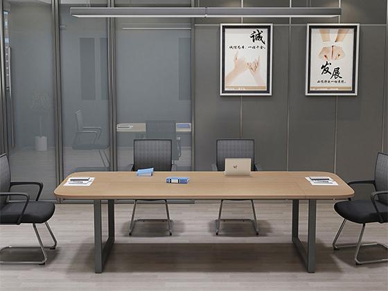 会议椭圆桌-会议桌尺寸-品源会议桌
