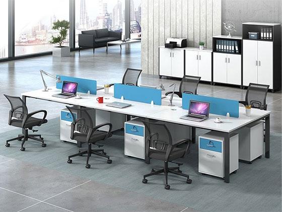 卡座工作位-屏风办公桌-品源办公桌