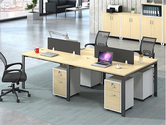 员工职员组合卡座-屏风式办公桌-品源办公桌