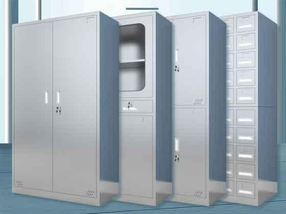不锈钢更衣柜厂家-办公室文件柜-品源文件柜