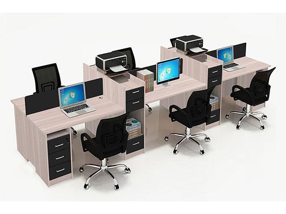 屏风工位办公桌-屏风式办公桌-品源办公桌