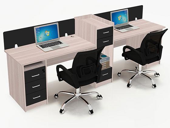 屏风工作位-隔断办公桌-品源办公桌
