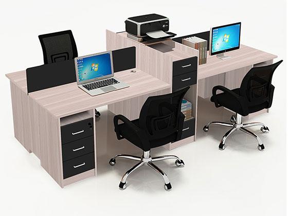 屏风工位办公桌-隔断式办公桌-品源办公桌