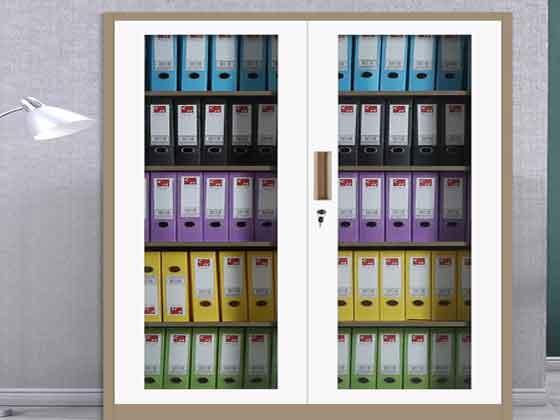 铁皮柜文件柜-办公室文件柜-品源文件柜