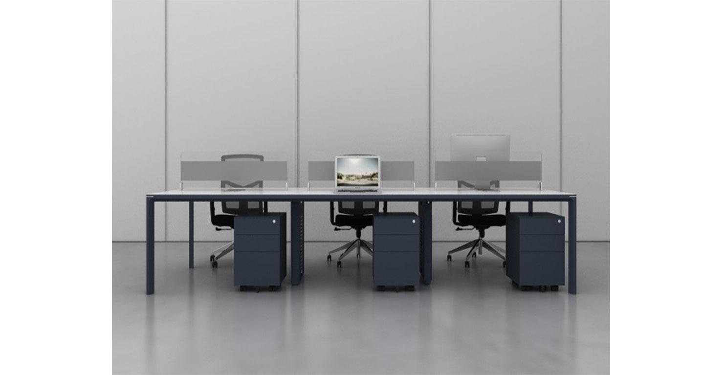 高档屏风办公桌-屏风办公桌-品源办公桌