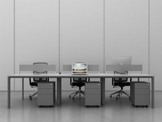 高档隔断办公桌-屏风式办公桌-品源办公桌