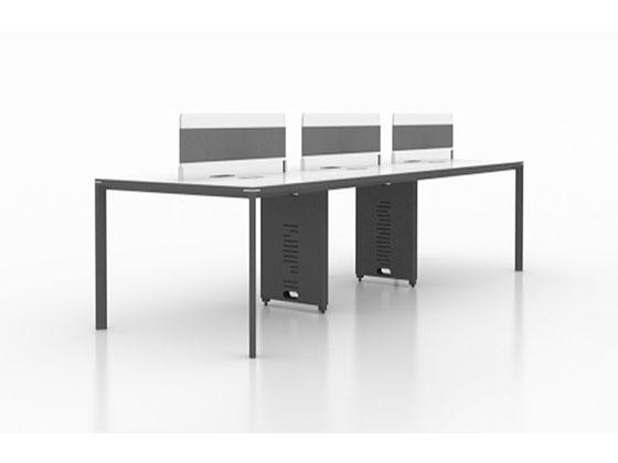 高档屏风办公桌-隔断式办公桌-品源办公桌