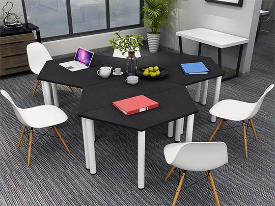 回型会议桌拼接-会议桌定制-品源会议桌