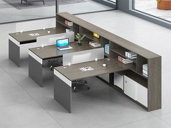 现代财务隔断-屏风式办公桌-品源办公桌