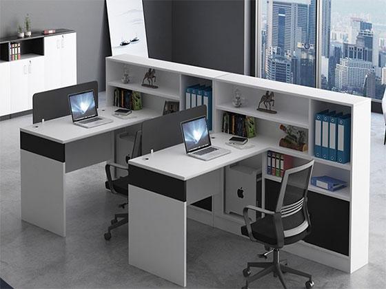 高档办公室工作位隔断-屏风式办公桌-品源办公桌