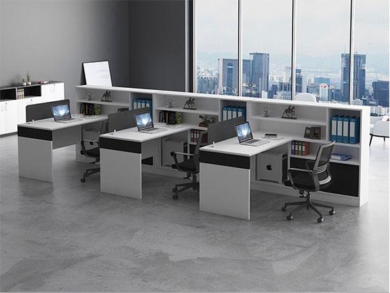 高档办公室工作位隔断-隔断式办公桌-品源办公桌