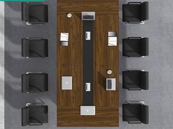 酒店讲课会议桌-会议桌-品源会议桌
