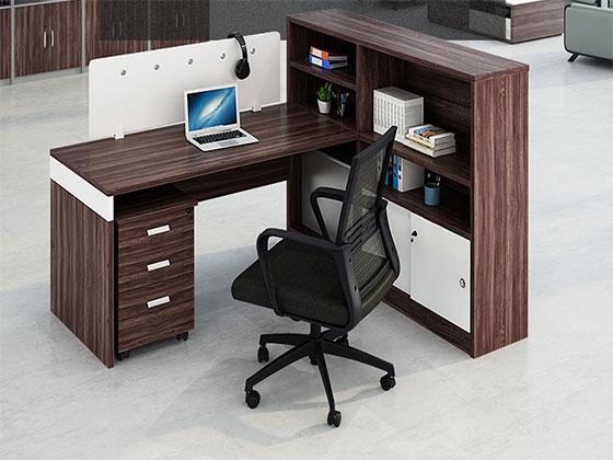 办公桌二人组-屏风式办公桌-品源办公桌