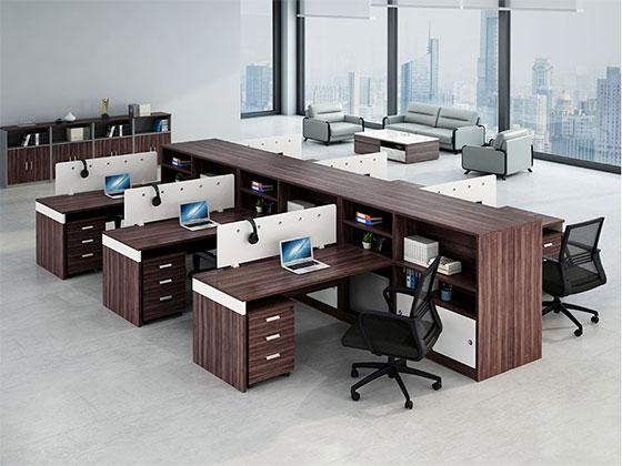 二人位办公桌-隔断式办公桌-品源办公桌