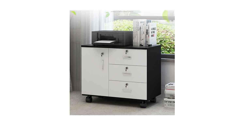 职员办公桌小柜子-办公室文件柜-品源文件柜