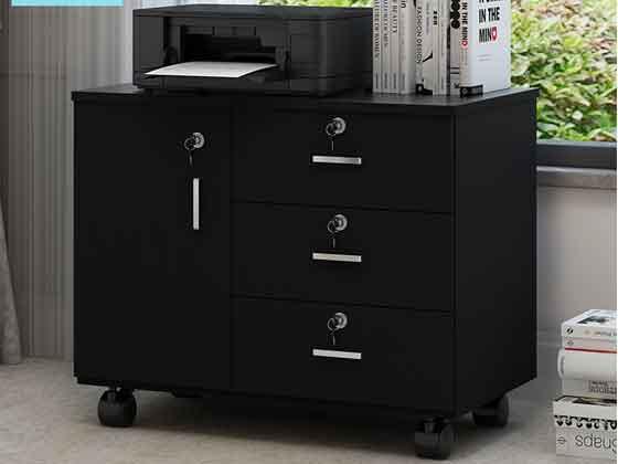 员工位带侧柜-文件柜定制-品源文件柜