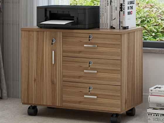 职员办公桌小柜子-文件柜定制-品源文件柜