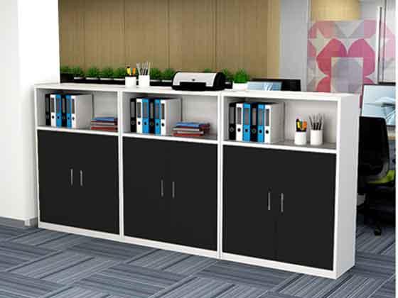 木制置物柜-文件柜定制-品源文件柜