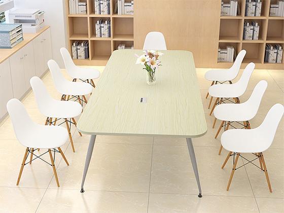 钢架培训桌-办公室会议桌-品源办公室会议桌