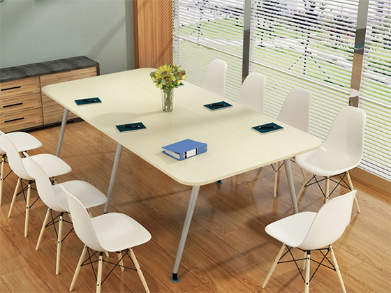 椭圆形会议桌-会议桌尺寸-品源会议桌