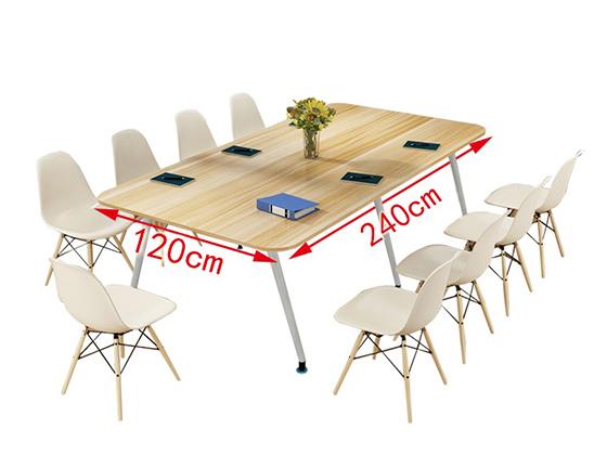 时尚小型洽谈桌椅尺寸-会议桌-品源会议桌