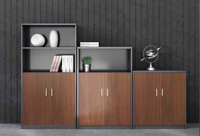 木质办公矮柜_双开门办公矮柜_办公家具矮柜