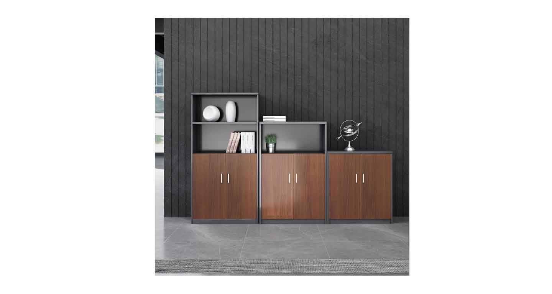 木质办公矮柜-办公室文件柜-品源文件柜