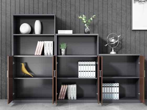 木质办公矮柜-文件柜定制-品源文件柜