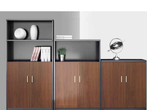 双开门办公矮柜-定制衣柜厂家-品源文件柜