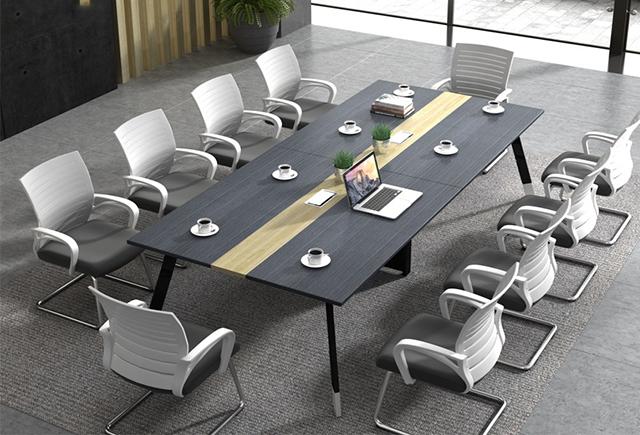 板式家具会议台_板式会议台