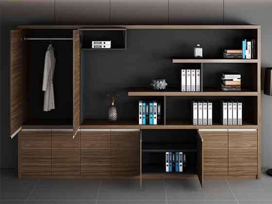 会议室书柜-定制衣柜厂家-品源文件柜