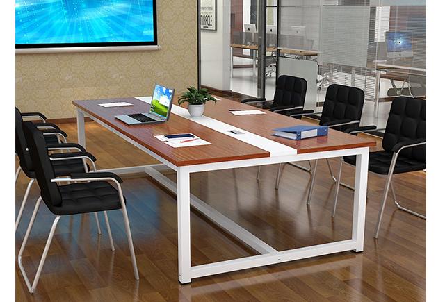 上海板式钢架会议桌厂_会议桌钢架