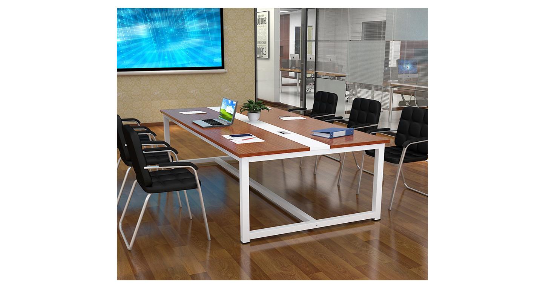 上海板式钢架会议桌厂-会议桌-品源会议桌