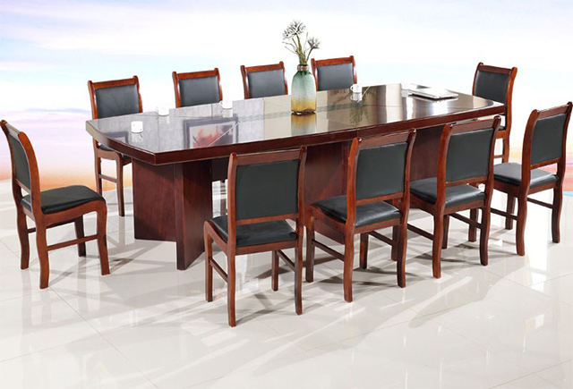 二十人会议桌-二十人会议桌尺寸-会议桌20人