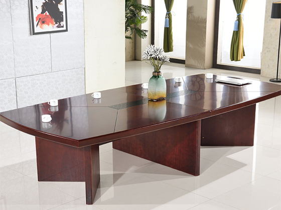 二十人会议桌-会议桌尺寸-品源会议桌