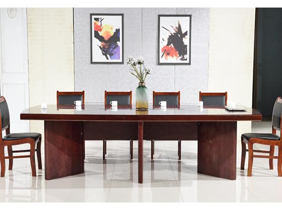 二十人会议桌尺寸-会议桌定制-品源会议桌