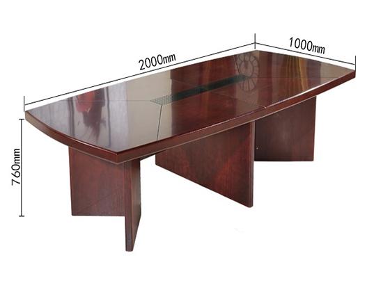 二十人会议桌尺寸-会议桌-品源会议桌