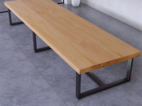 实木拼接会议桌--会议桌-品源会议桌