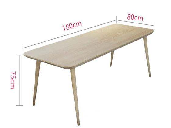 实木会议桌尺寸-会议桌-品源会议桌