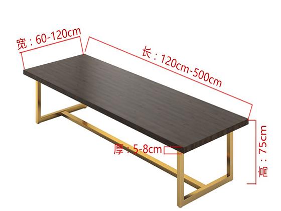 豪华油漆会议桌尺寸-会议桌-品源会议桌
