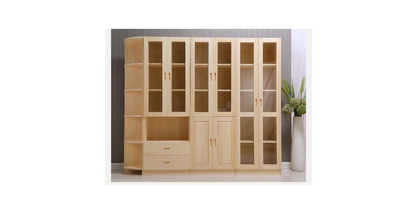 总经理实木文件柜-办公室文件柜-品源文件柜