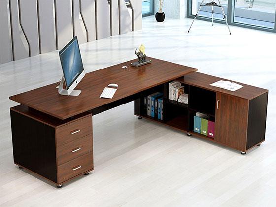 老板办公桌-隔断式办公桌-品源办公桌