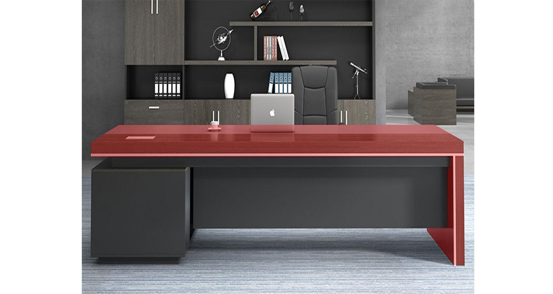 公司老总办公桌-屏风式办公桌-品源办公桌
