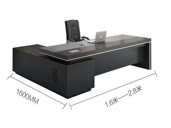 公司老板桌尺寸-屏风办公桌-品源办公桌
