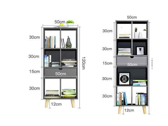 定制木文件柜尺寸-办公室文件柜-品源文件柜