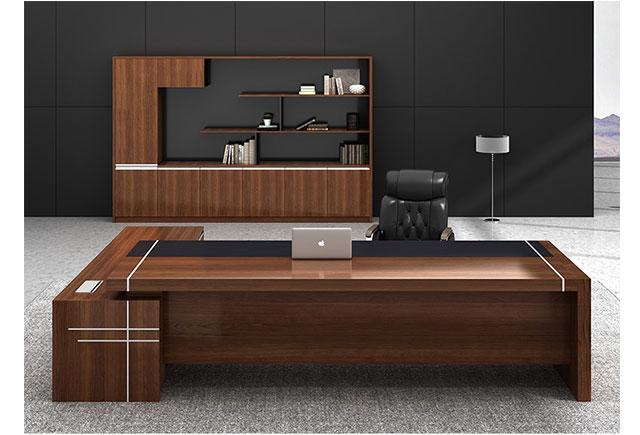 实木总裁办公桌_总裁办公室桌子